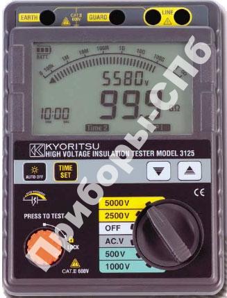 KEW 3125 - мегаомметр цифровой 500-5000 В